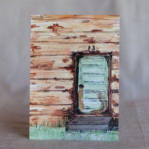"""""""Old Door"""" 5x7 Artwork Print"""